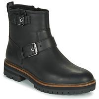 Schuhe Damen Boots Timberland LONDON SQUARE BIKER Schwarz