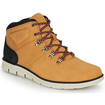 Schuhe Herren Sneaker High Timberland BRADSTREET HIKER Rot multi wf sde / Braun