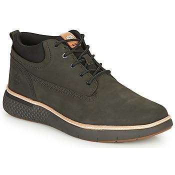 Schuhe Herren Sneaker High Timberland CROSS MARK PT CHUKKA Schwarz