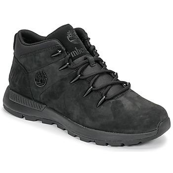 Schuhe Herren Boots Timberland EURO SPRINT TREKKER Schwarz