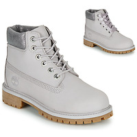 Schuhe Kinder Boots Timberland 6 IN PREMIUM WP BOOT Grau