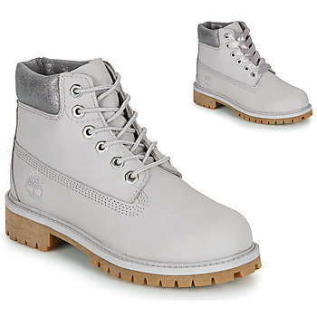 Schuhe Kinder Boots Timberland 6 IN PREMIUM WP BOOT Grau