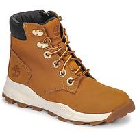 Schuhe Kinder Sneaker High Timberland BROOKLYN SNEAKER BOOT Braun