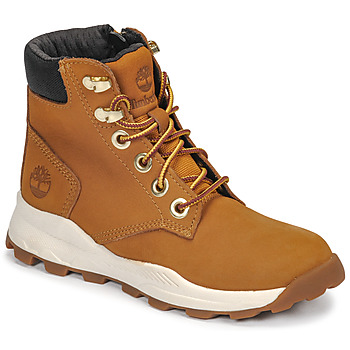 Schuhe Kinder Sneaker High Timberland BROOKLYN SNEAKER BOOT Braun