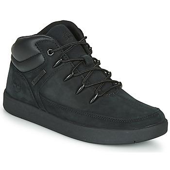 Schuhe Kinder Sneaker High Timberland DAVIS SQUARE TDEUROSPRINT Schwarz