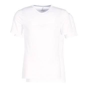 Unterwäsche Herren Unterhemden DIM X-TEMP TOPS X 2 Weiss