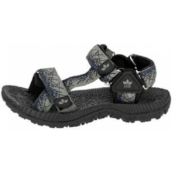 Schuhe Sandalen / Sandaletten Lico Trekkingsand 470074 grau/blau