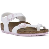 Schuhe Mädchen Sandalen / Sandaletten Birkenstock NEW YORK Bianco