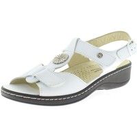 Schuhe Damen Sandalen / Sandaletten Hickersberger Sandaletten VARIO 5108 8100 (G) weiß