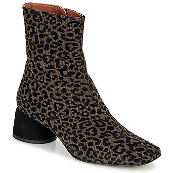 Schuhe Damen Boots Castaner LILO Braun