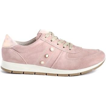 Schuhe Damen Sneaker Low Imac 307081 Rose
