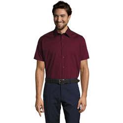 Kleidung Herren Kurzärmelige Hemden Sols BROADWAY STRECH MODERN Violeta