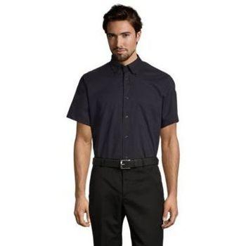 Kleidung Herren Kurzärmelige Hemden Sols BROOKLYN TWILL DAY Azul