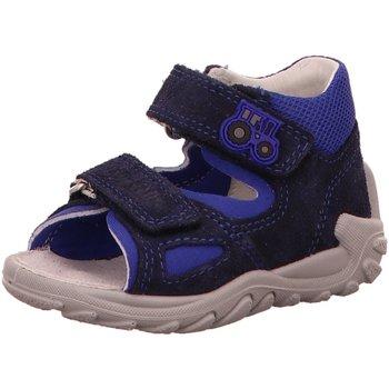 Schuhe Jungen Sandalen / Sandaletten Superfit Sandalen 4-09011-80 4-09011-80 blau