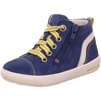 Schuhe Jungen Sneaker High Superfit High 4-09354-80 blau