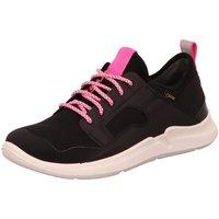 Schuhe Damen Sneaker Low Superfit Schnuerschuhe 4-09394-00 schwarz