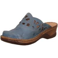 Schuhe Damen Pantoletten / Clogs Josef Seibel Pantoletten Sabot/Clog Catalonia 41 56541 95 515 blau