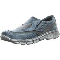 Schuhe Herren Slipper Krisbut Slipper 4857-2-1 blau