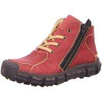 Schuhe Damen Stiefel Rovers Stiefeletten 401 VINO rot