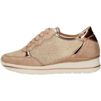 Schuhe Damen Sneaker Low Melluso R20033 Rose