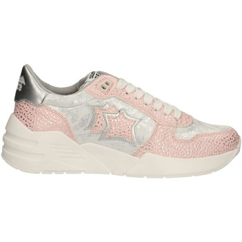 Schuhe Damen Sneaker Low Atlantic Stars VENUS-RAG-SN12 Rose