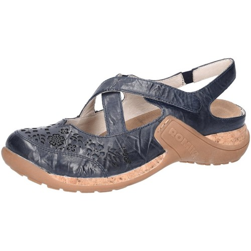 Romika Slipper Milla 125 10185-40-530 blau - Schuhe Slipper Damen