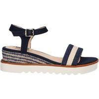 Schuhe Damen Sandalen / Sandaletten MTNG 50526 Azul