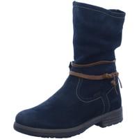 Schuhe Damen Klassische Stiefel Vado Stiefel 66006 blau