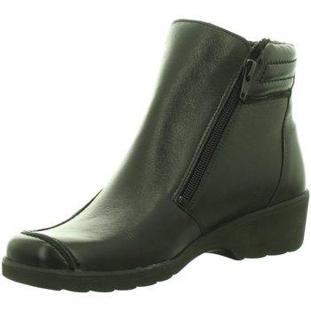 Schuhe Damen Klassische Stiefel Longo Stiefeletten Beq.Schnr/Schlupfstf 1005425 schwarz