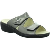 Schuhe Damen Pantoffel Longo Pantoletten Beq-Pantl-Wörishf-30 1010489 grau