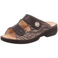 Schuhe Damen Pantoffel Finn Comfort Pantoletten Zeno 05003901466 schwarz