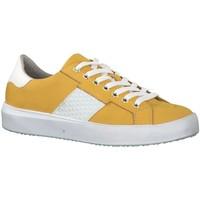 Schuhe Damen Sneaker Low Tamaris Schnuerschuhe Da.-Schnürer 1-1-23762-32/603 603 gelb