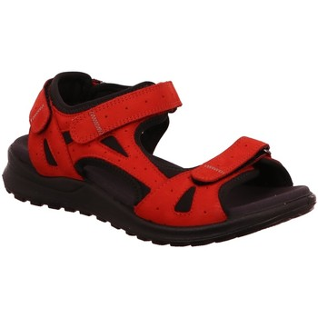 Schuhe Damen Sportliche Sandalen Legero Sandaletten 732-51 FS2019 rot