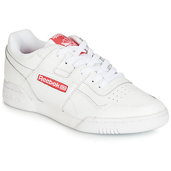 Schuhe Sneaker Low Reebok Classic WORKOUT PLUS MU Weiss / Rot