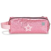 Taschen Mädchen Kosmetiktasche Citrouille et Compagnie CITELLE Rose / Grau