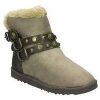 Schuhe Damen Schneestiefel Wrangler Stiefel  wl182670-29 junge mode braun Marron