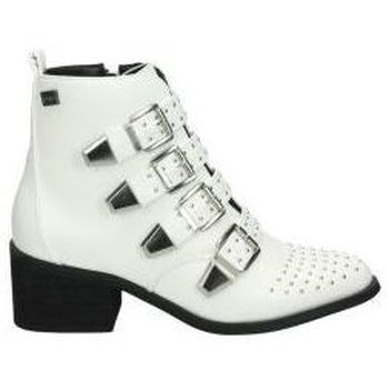 Schuhe Damen Low Boots Coolway Stiefeletten  juno young fashion weiß Blanc