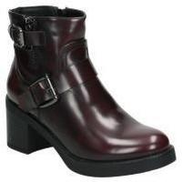 Schuhe Damen Low Boots Chika 10 Chk10 stiefeletten anais 03 young fashion rot rouge