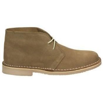 Schuhe Damen Boots Brans 220 Marron