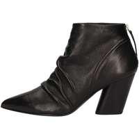 Schuhe Damen Ankle Boots Halmanera ROSE12 Schwarz