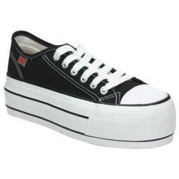 Schuhe Damen Sneaker Low Coolway GREASE Noir
