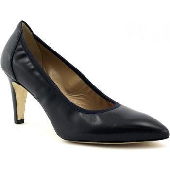 Schuhe Damen Pumps Melluso MEL-E19-D132-NO Blu