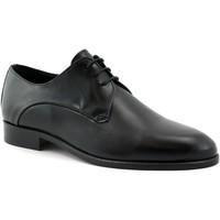 Schuhe Herren Richelieu Melluso MEL-CCC-U0882F-NE Nero