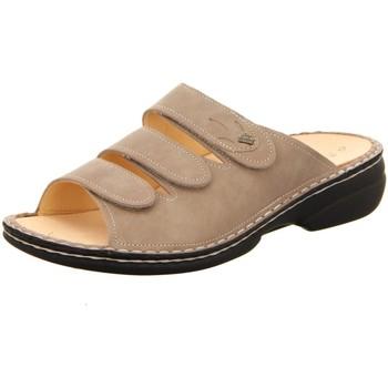 Schuhe Damen Pantoffel Finn Comfort Pantoletten KOS 02554-444345 braun