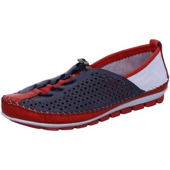 Schuhe Damen Slipper Gemini Schnuerschuhe 003138-01/581 blau