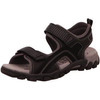 Schuhe Damen Sportliche Sandalen Legero Trekkingsandalen 0-600451-0000 schwarz