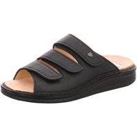 Schuhe Damen Pantoffel Finn Comfort Pantoletten Korfu 055099 schwarz
