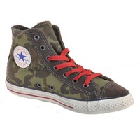 Schuhe Jungen Sneaker High Converse ALL STAR CT SIDE ZIP VERDI Grün