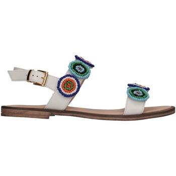 Schuhe Mädchen Sandalen / Sandaletten Florens Z975237B BIANCO Sandalen Kind weiß weiß
