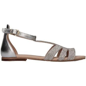Schuhe Mädchen Sandalen / Sandaletten Florens Z909114A ARGENTO Silber